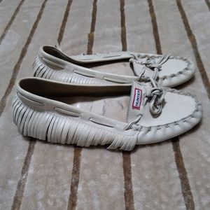 Hunter flats moccasin loafers size 7